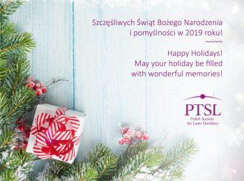 Szczęśliwych Świąt Bożego Narodzenia i Nowego Roku!